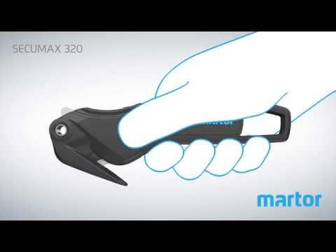 Veiligheidsmes MARTOR SECUMAX 320 Product Video NL
