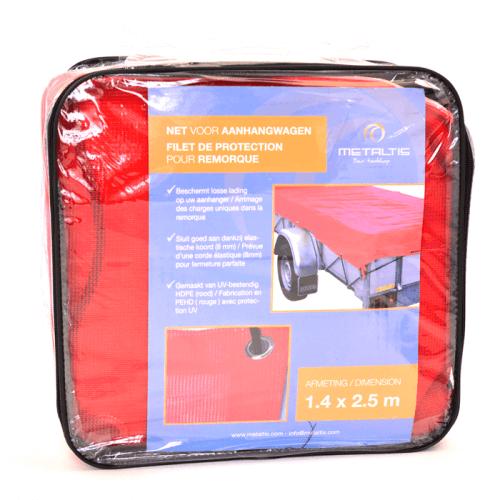 aanhangwagennet geleverd in handige tas