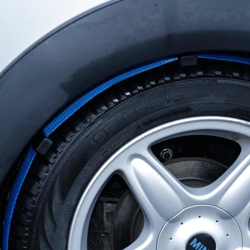 autosjorband met rubberen blokjes