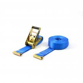 2T - 3,5m - 50mm - 2-teilig mit Endbeschlag - Blau>