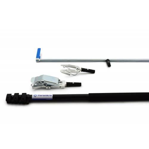 Teleskopischer Multi-Stick - Forankra - 3-in-1 - bis zu 2,5m